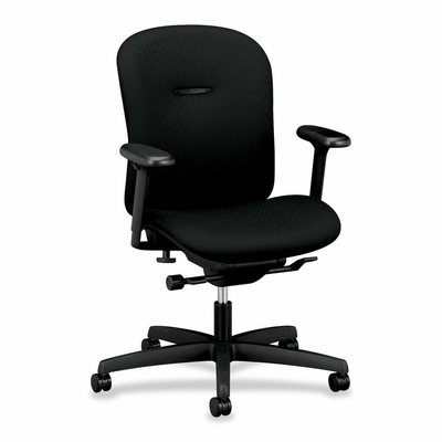 Short Back Task Chair - Black - HONMAL1HUBNT10T