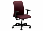 Short back Task Chairs - Wine - HONITL1AHUNT69T