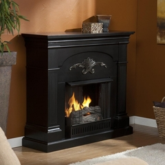 SEI Sicilian Harvest Black Gel Fireplace