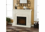Sicilian Harvest Ivory Electric Fireplace - Holly and Martin