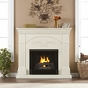 Sicilian Harvest Ivory Gel Fireplace - Holly and Martin