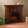 Sicilian Harvest Mahogany Electric Fireplace - Holly and Martin