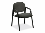 Side-Arm Guest Chair - Gray/Black Frame - HON4003AB12T