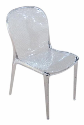 Side Chair in Clear - PC-90