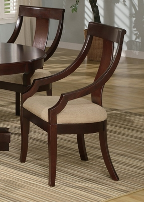 Side Chair in Deep Cherry - Coaster