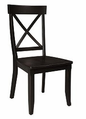 Side Chair (Set of 2) in Black - 5178-80-SET