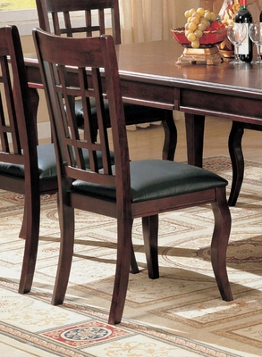 Side Chair (Set of 2) in Cherry - Coaster - COAST-11005021-SET