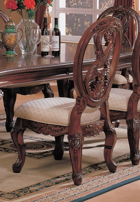 Side Chair (Set of 2) in Cherry - Coaster - COAST-11010221-SET