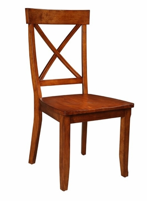 Side Chair (Set of 2) in Cottage Oak - 5179-80-SET