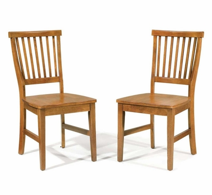 Side Chair (Set of 2) in Cottage Oak - Arts and Crafts - 5180-80