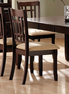 Side Chair (Set of 2) in Deep Cappuccino - Coaster