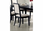 Side Chair (Set of 2) in Distressed Black - Coaster