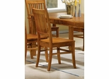 Side Chair (Set of 2) in Medium Brown - Coaster