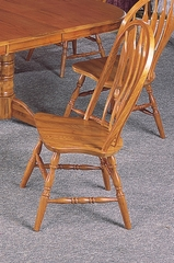 Side Chair (Set of 2) in Oak - Coaster - COAST-14388AN1-SET