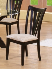 Side Chair (Set of 2) in Rich Cappuccino - Coaster - COAST-11010721-SET