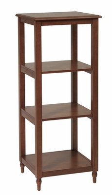 Side Pier / Etagere in Antique Cherry - Office Star - KH41