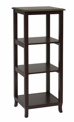 Side Pier / Etagere in Merlot - Office Star - ME41