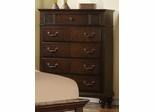 Sidney Chest in Dark Cherry - 202065