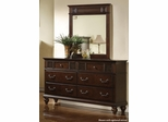 Sidney Dresser with 6 Drawers in Dark Cherry - 202063