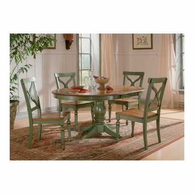 Sidney Green / Light Cherry Dining Room Set - Largo - LARGO-ST-D136-30BT-41-SET
