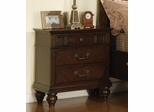 Sidney Nightstand in Dark Cherry - 202062