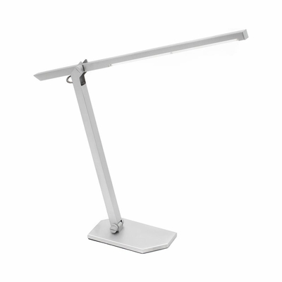 Silver LED Contort Table Lamp - Lumisource