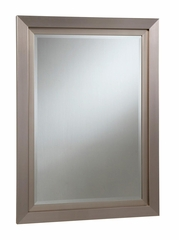 Silver Simple Beveled Mirror - 901748