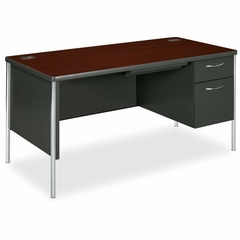 Single Desk - Mahogany - HON88263RNS