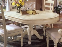 Single Pedestal Table - Wynwood Furniture - 1597-32