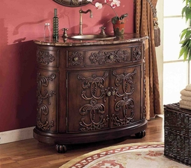 Sink Cabinet in Dark Choc-Brown - LF0056-P