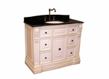 Sink Chest in Antique White - P5440-03A-W