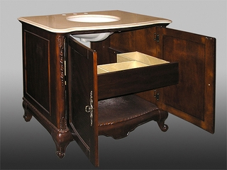 Sink Chest in Brown Cherry - W5249-11