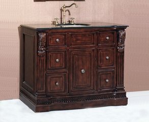 Sink Chest in Dark Cherry - P5440-03A-C-3