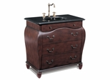 Sink Chest in Dark Choc-Brown - P5401-03A-3