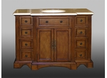 Sink Chest in Medium Walnut - W5299-11