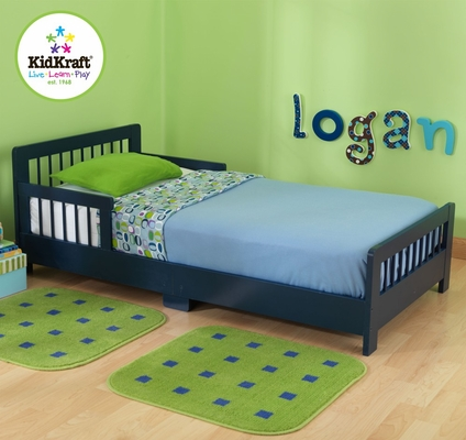 Slatted Blueberry Toddler Bed - KidKraft Furniture - 86926