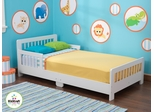 Slatted White Toddler Bed - KidKraft Furniture - 86922