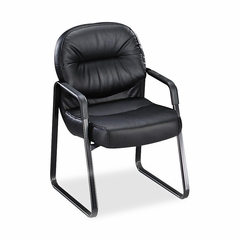 Sled Base Guest Chair - Black - HON2093EB11T