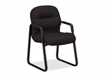 Sled Base Guest Chair - Black - HON2093NT10T