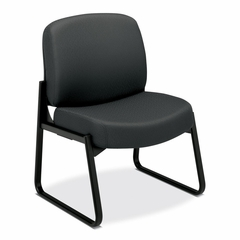 Sled-Base Guest Chair - Charcoal Gray - HON3506NT19T