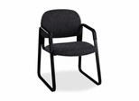 Sled Guest Chair - Black/Black - HON4008AB10T