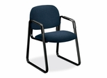 Sled Guest Chair - Blue/Black - HON4008AB90T