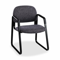 Sled Guest Chair - Gray/Black - HON4008AB12T
