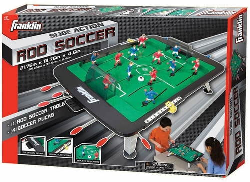 Slide Action Rod Soccer - Franklin Sports