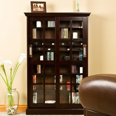 Sliding Door Media Cabinet - Holly and Martin