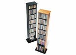 Slim Multimedia Storage Tower in Black - Prepac Furniture - BMA-0160
