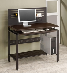 Slotted Back Computer Desk with 2 Drawers - 800588