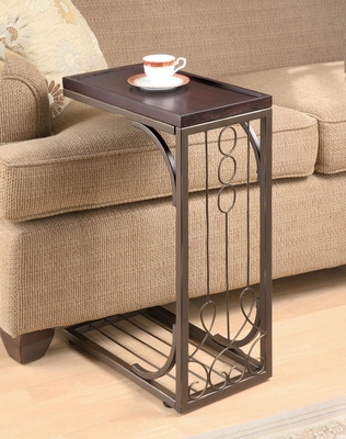 Small Brown Snack Table  - 900280