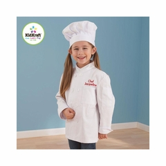 Small Chef Jacket & Chef Hat - KidKraft