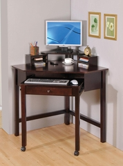 Small Corner Desk in Cappuccino - 800983